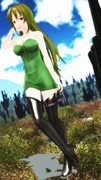 サボテンとサングラス、素敵な玲霞さん193!【Fate/MMD】