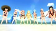 駆逐艦の夏休み