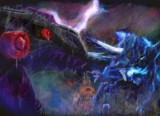 鎌竜の衝突