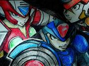 ロックマンX8(エックス、ゼロ、アクセル)