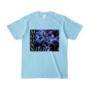Tシャツ ライトブルー MoonNight