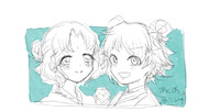 かわいい3人