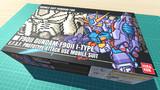 ガンダムF90II Iタイプ / 16色ドット絵ガンプラ箱絵風3D