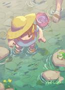 なっちゃんの夏休み キャンプ!川遊び