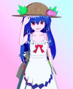 【Blender】麦わら+ワンピース【東方】