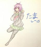 多摩さんとお絵描き練習3