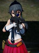 矢矧と20式5.56mm小銃