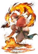 炎属性-格闘