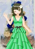 みーちゃん、このドレス、レタスみたいで素敵でしょ?