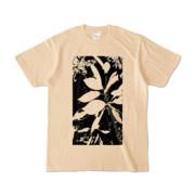 Tシャツ ナチュラル Origin_Leaf