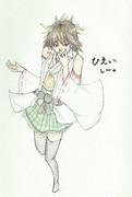 比叡さんとお絵描き練習5