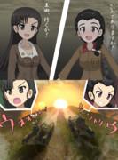 【ガルパン】最終章第3話予想シリーズ「知波単、最後の突撃編」