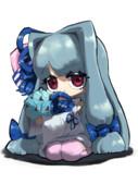 チョコミントかかえる葵ちゃん
