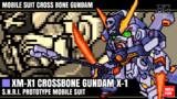 クロスボーン・ガンダムX-1 / 16色ドット絵ガンプラ箱絵風