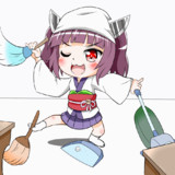 お掃除 きりたん(●´ω`●)【GIF】
