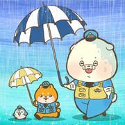 傘の日でした