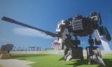 #Minecraft 25mmX電磁単装機銃持たせてみた #JointBlock