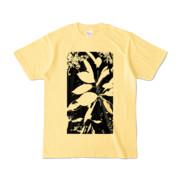 Tシャツ ライトイエロー Origin_Leaf