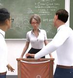 百戦錬磨の自称新任女教師