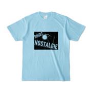 Tシャツ ライトブルー GHOST_NOSTALGIE