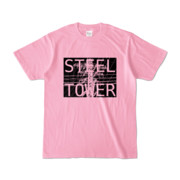 Tシャツ ピーチ STEEL☆TOWER