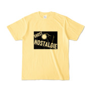 Tシャツ ライトイエロー GHOST_NOSTALGIE
