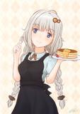 ホットケーキ焼いて食べちゃう系あかりちゃん