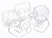 笑顔の3人②