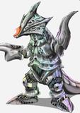 怪獣 リガトロン( ゚皿゚)