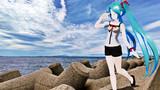 日間賀島の海②