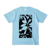 Tシャツ ライトブルー Origin_Leaf