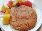 パンケーキにミノタウロスを描いてみた