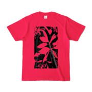 Tシャツ ホットピンク Origin_Leaf