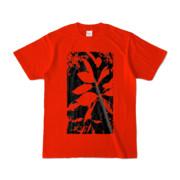 Tシャツ レッド Origin_Leaf