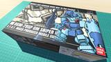 ジム・スナイパーII / 16色ドット絵ガンプラ箱絵風3D
