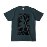 Tシャツ デニム Origin_Leaf