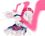 妖艶魔女のアークノーツで殴りかかってくるHikariちゃん