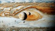 【MMD】大赤斑(木星)の前を通過するエウロパとイオ【Ray-MMD】