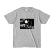 Tシャツ 杢グレー GHOST_NOSTALGIE