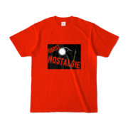 Tシャツ レッド GHOST_NOSTALGIE