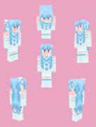 【Minecraft】琴葉葵:シンセサイザー衣装【Alex】