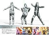 【MMDモデル配布】銀色のモブ
