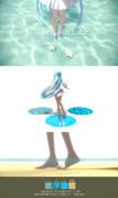 簡易水面床