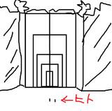 キルアの家の門