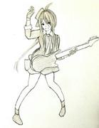 有明さんとお絵描き練習2