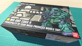 ザクII F型 / 16色ドット絵ガンプラ箱絵風3D