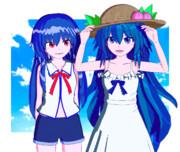 【Blender】夏服てんしおん【東方】