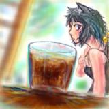 猛暑の御供麦茶