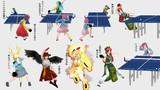 【第4回没ネタ供養祭】卓球少女さとり【第12回東方ニコ童祭あとの祭り】