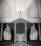 monochrome stage